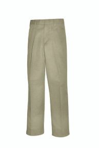 Male Pleated Front Pants - KHK & NVY