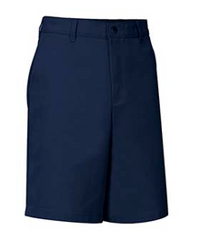 Male Flat Front Shorts - Navy Only