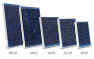 Speedrite Premium Heavy Duty Professional Solar Panels 30W for 3 Joule Charger Bracket Included