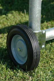 USA Made Heavy Duty Easy Open Gate Wheel for Tube and Farm Gates Stop Sinking