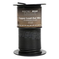 Electrobraid Fence Copper Lead Out Wire 200ft Roll Multi Purpose