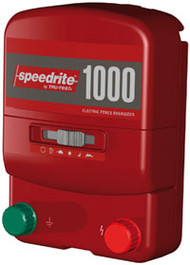 Speedrite 1000 Universal 110V and 12V Plug In Charger 40 Acres  Solar Compatible