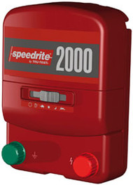 Speedrite 2000 Universal 110V and 12V Plug In Charger 80 Acres  Solar Compatible