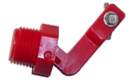 "Red Medium Valve 1/2"" pkg #12575 - Ritchie"