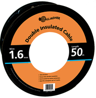 Gallagher Double Insulated Undergate Cable 65ft 16 Gauge