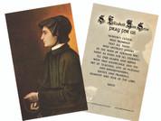 St. Elizabeth Ann Seton Holy Card
