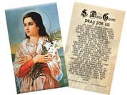 St. Maria Goretti Holy Card