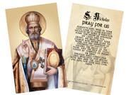 St. Nicholas Holy Card