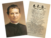 St. John Bosco Holy Card