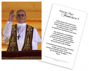 Tarjeta Religiosa Del Papa Francisco Dando Su Bendici?n (Pope Francis Spanish Laminated Prayer Cards)