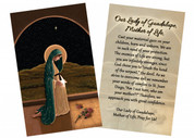 """""""Mother of Life"""" by Nellie Edwards Holy Card"""