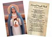 """""""Light of Life"""" by Nellie Edwards Holy Card"""