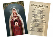 """""""Prayer for Life"""" by Nellie Edwards Holy Card"""
