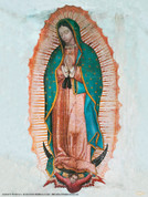 Our Lady of Guadalupe Wall Graphic