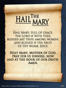 The Hail Mary Wall Graphic
