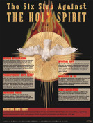 The Six Sins Against the Holy Spirit Explained Teaching Tool