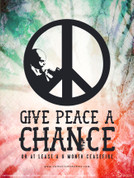 Give Peace a Chance Wall Graphic