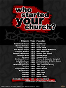 Who Started Your Church Teaching Tool