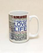 Saint Maximilian Quote Mug