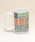 Saint Patrick Quote Mug