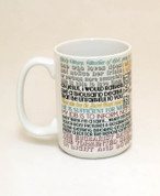 Saint Bernadette Quote Mug