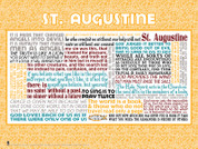 Saint Augustine Quote Wall Graphic