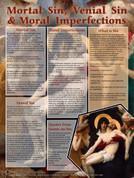 Mortal Sins, Venial Sins, and Moral Imperfections Explained Teaching Tool