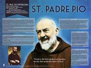 Saint Padre Pio Explained Poster
