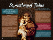 Saint Anthony of Padua Explained Poster
