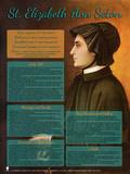 St. Elizabeth Ann Seton Explained Poster (POS-F252)