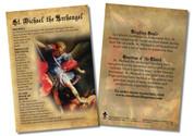 St. Michael the Archangel Faith Explained Card