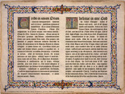 Latin-English Nicene Creed Poster