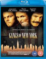 GANGS OF NEW YORK (UK) BLU-RAY