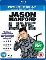 JASON MANFORD LIVE (UK) BLU-RAY