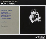 VERDI ROBERTI SYMPHONY ORCHESTRA & CHORUS OF - DON CARLO CD