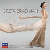 GRETA BRADMAN - MY HERO CD