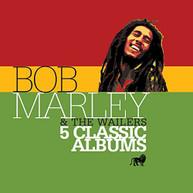 BOB MARLEY & WAILERS - 5 CLASSIC ALBUMS (IMPORT) CD