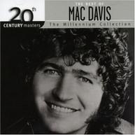 MAC DAVIS - 20TH CENTURY MASTERS (IMPORT) CD
