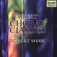 SHAW ATLANTA SYMPHONY ORCHESTRA & CHORUS - GREAT CHORAL CLASSICS CD