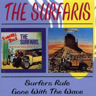 SURFARIS (UK) - SURFERS RULE GONE WITH THE WAVE (UK) CD