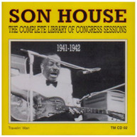 SON HOUSE - COMPLETE LIBRARY OF CONGRESS CONGRESS 1941-42 CD