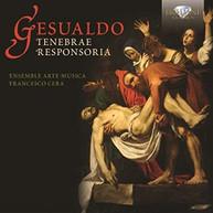 GESUALDO - TENEBRAE RESPONSORIA CD