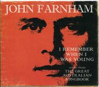 JOHN FARNHAM - I REMEMBER WHEN I WAS YOUNG-THE GREATEST AUSTRALIA CD
