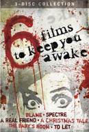6 FILMS TO KEEP YOU AWAKE (3PC) DVD