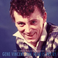 GENE VINCENT - ROAD IS ROCKY-COMPLETE STUDIO MASTERS 1956 CD