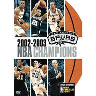 NBA CHAMPIONS 2003: SAN ANTONIO SPURS DVD