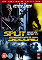 SPLIT SECOND (UK) - DVD
