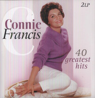 CONNIE FRANCIS - 40 GREATEST HITS (IMPORT) VINYL
