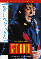PAUL MCCARTNEY - GET BACK WORLD TOUR DVD