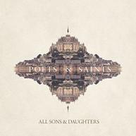 ALL SONS &  DAUGHTERS - POETS & SAINTS (UK) VINYL